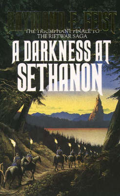 RIFTWAR SAGA 3: A DARKNESS AT SETHANON THE TRIUMPHANT FINALE TO THE RIFTWAR SAGA Paperback A FORMAT