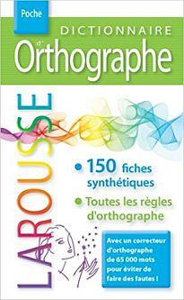 LAROUSSE DICTIONNAIRE D'ORTHOGRAPHE  POCHE