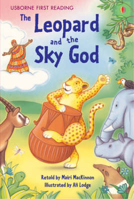 USBORNE FIRST READING 3: THE LEOPARD AND THE SKY GOD HC