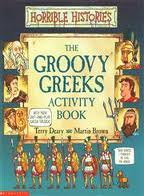 HORRIBLE HISTORIES : THE GROOVY GREEKS ACTIVITY BOOK Paperback