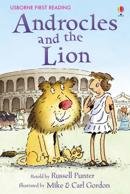 USBORNE FIRST READING 4: ANDROCLES AND THE LION HC