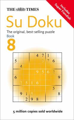 THE TIMES SUDOKU BOOK 8