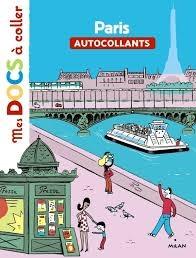 MES DOCS A COLLER: PARIS: AUTOCOLLANTS POCHE