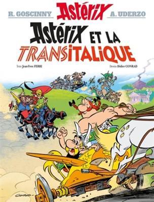 ASTERIX TOME 37 - ASTERIX ET LA TRANSITALIQUE  HC