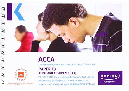 ACCA F8 AUDIT & ASSURANCE - POCKET NOTES  Paperback