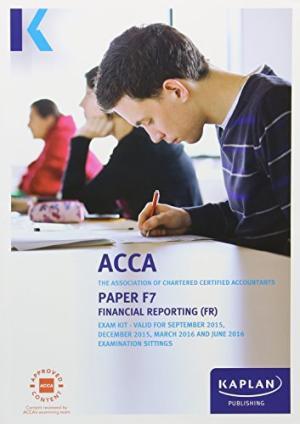 F7 FINANCIAL REPORTING-EXAM KIT Paperback