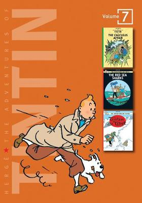 THE ADVENTURES OF TINTIN 7: THE CALCULUS AFFAIR, THE RED SEA SHARKS, TINTIN IN TIBET HC