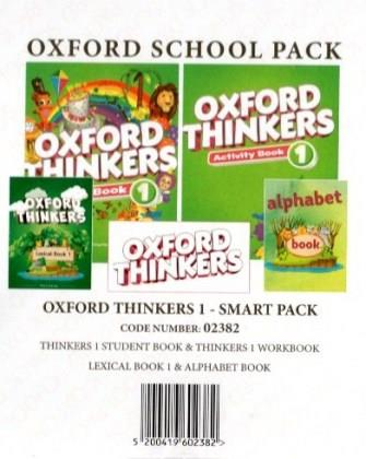OXFORD THINKERS 1 SMART PACK (Student's Book + Workbook + ALPHABET + LEXICAL) - 02382