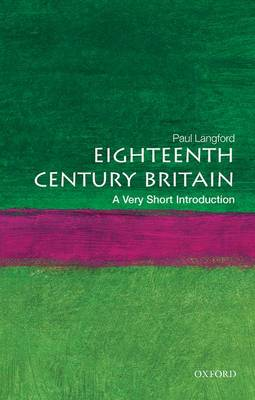 VERY SHORT INTRODUCTIONS : EIGHTEENTHCENTURY BRITAIN Paperback A FORMAT