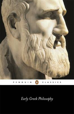 PENGUIN CLASSICS : EARLY GREEK PHILOSOPHY Paperback B FORMAT