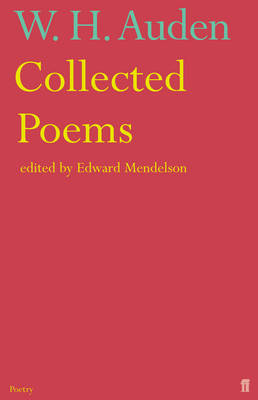 AUDEN: COLLECTED POEMS Paperback B FORMAT