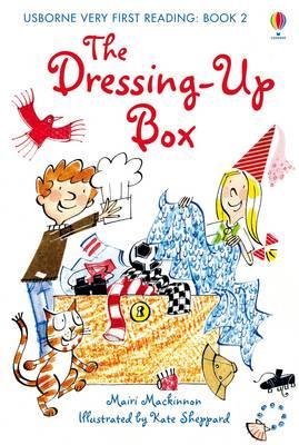 USBORNE VERY FIRST READING 1: THE DRESSING-UP BOX HC
