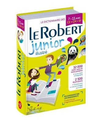 LE ROBERT DICTIONNAIRE JUNIOR ILLUSTRE 8/11 ANS 2018 N/E HC