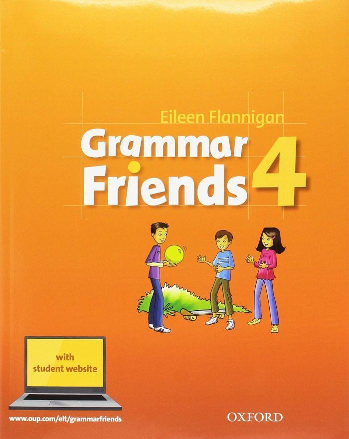 GRAMMAR FRIENDS 4 Student's Book (+ Student's Book WEBSITE) N/E