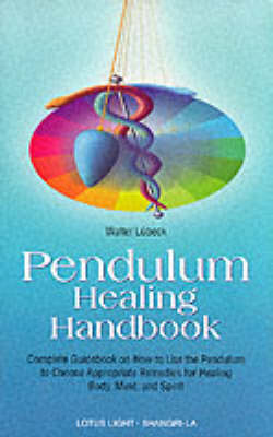 PENDULUM HEALING BOOK Paperback