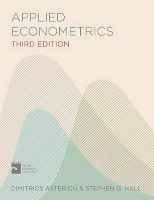 APPLIED ECONOMETRICS Paperback