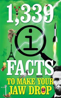 1,339 QI FACTS TO MAKE YOUR JAW DROP  Paperback