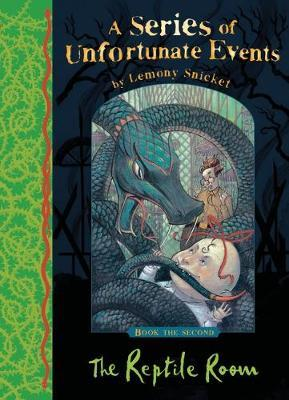 A SERIES OF UNFORTUNATE EVENTS 2: THE REPTILE ROOM Paperback A FORMAT
