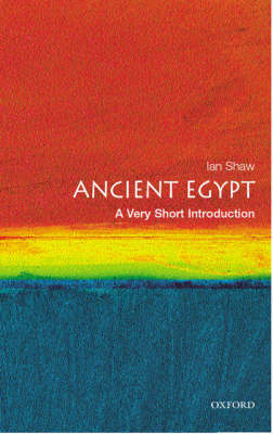 VERY SHORT INTRODUCTIONS : ANCIENT EGYPT Paperback A FORMAT