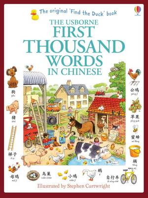 USBORNE : FIRST THOUSAND WORDS IN CHINESE  Paperback