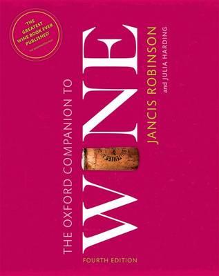 THE OXFORD COMPANION TO WINE 4TH ED