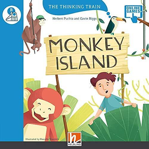 The Thinking Train MONKEY ISLAND - READER + ACCESS CODE (THE THINKING TRAIN B)