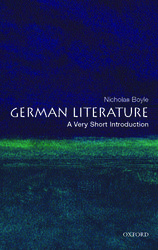 VERY SHORT INTRODUCTIONS : GERMAN LITERATURE Paperback A FORMAT
