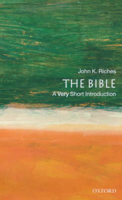 VERY SHORT INTRODUCTIONS : THE BIBLE Paperback A FORMAT