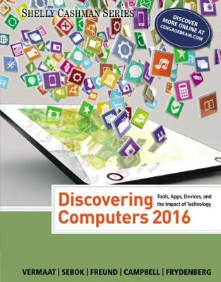 DISCOVERING COMPUTERS 2016 (SHELLY CASHMAN)  Paperback