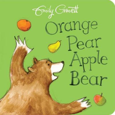 ORANGE PEAR APPLE BEAR  Paperback