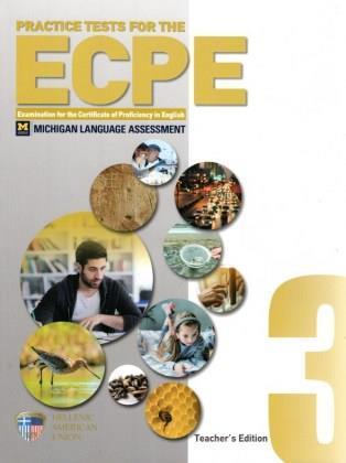PRACTICE TESTS 3 ECPE Teacher's Book (+ AUDIO CD (3))