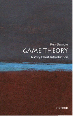 VERY SHORT INTRODUCTIONS : GAME THEORY Paperback A FORMAT