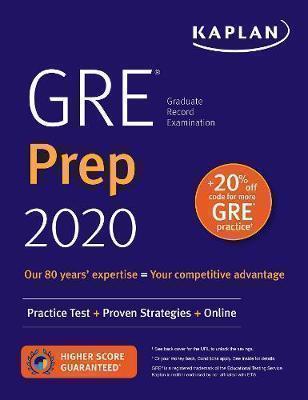 GRE PREP 2020 PRACTICE TESTS