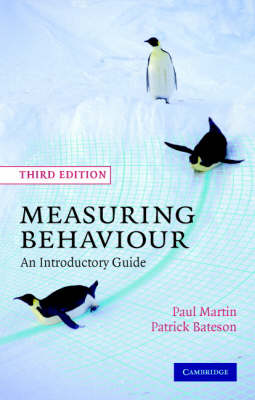 MEASURING BEHAVIOUR 3RD ED