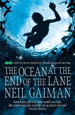THE OCEAN AT THE END OF THE LANE Paperback B FORMAT