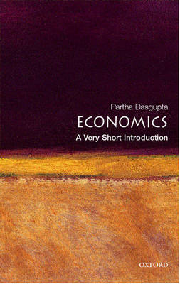VERY SHORT INTRODUCTIONS : ECONOMICS Paperback A FORMAT