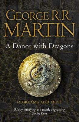 A SONG OF ICE AND FIRE 5:A DANCE WITH DRAGONS PART1: DREAMS & DUST Paperback A FORMAT