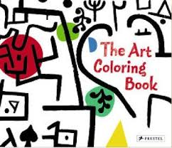 THE ART COLOURING BOOK Paperback
