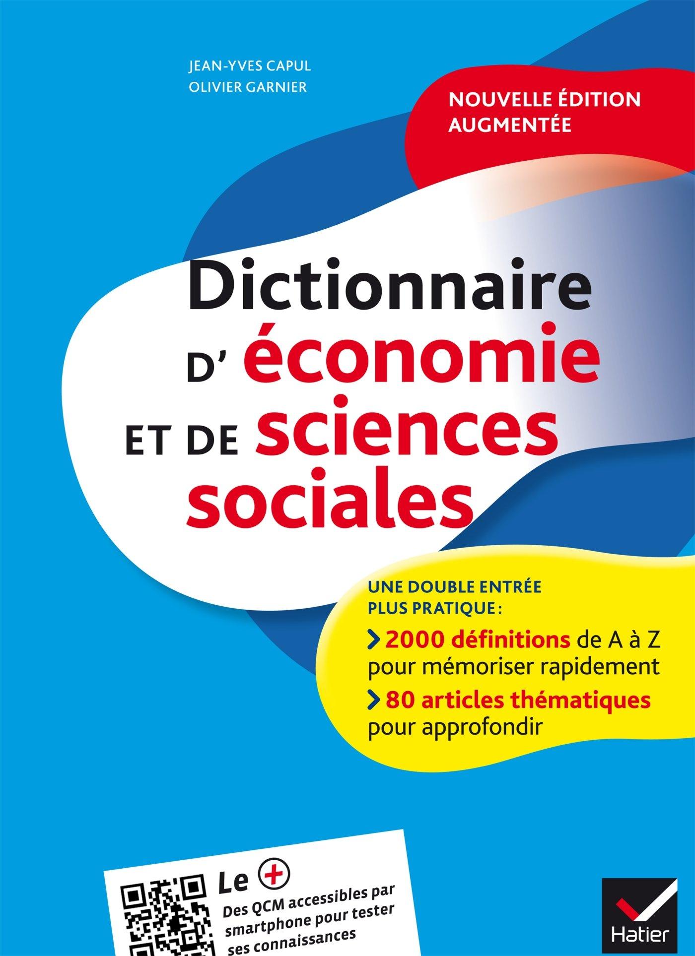 DICTIONNAIRE D' ECONOMIE ET SCIENCES SOCIALES 2ND ED