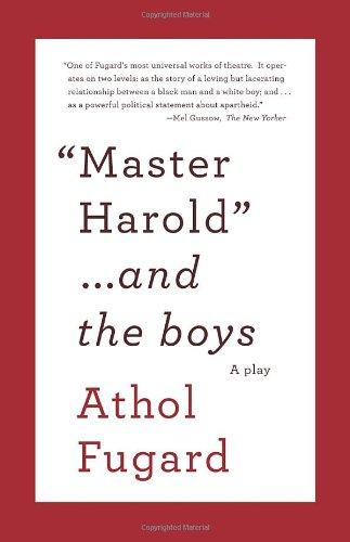 MASTER HAROLD AND THE BOYS Paperback