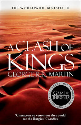 A SONG OF ICE AND FIRE 2: CLASH OF KINGS Paperback