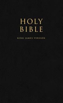 HOLY BIBLE King James Version (KJV) Popular Gift & Award Black Leatherette Edition Paperback