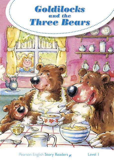 PEARSON ENGLISH STORY READERS 1: THE GOLDILOCKS AND THE THREE BEARS
