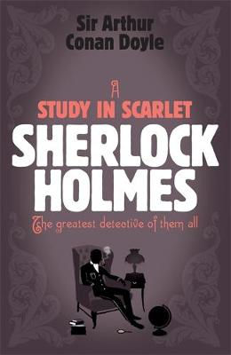 HEADLINE REVIEW CLASSICS : A STUDY IN SCARLET Paperback
