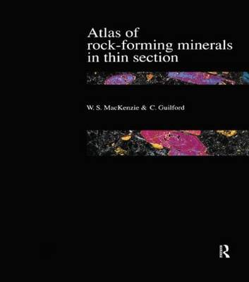 ATLAS OF THE ROCK-FORMIG MINERALS IN THIN SECTION Paperback