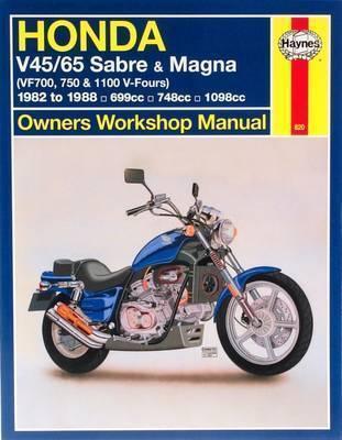 HONDA V45/65 SABRE & MAGNA Paperback