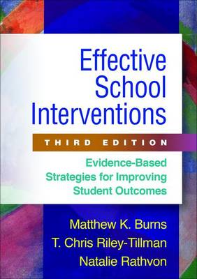 EFFECTIVE SCHOOL INTERVENTIONS 3RD ED HC
