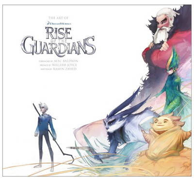 THE ART OF RISE OF THE GUARDIANS  HC