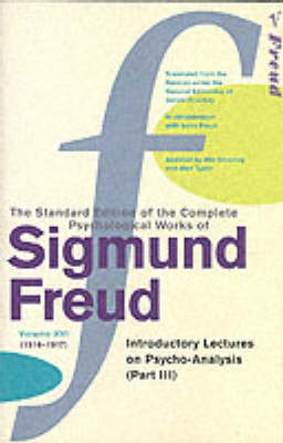 COMPLETE PSYCH.WORKS OF SIGMUND FREUD VOL 16 Paperback
