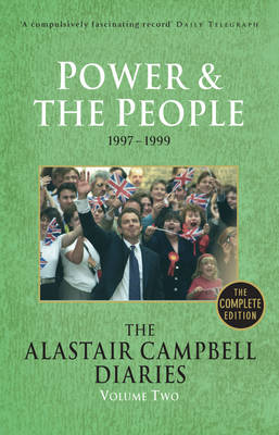 DIARIES VOLUME TWO POWER & THE PEOPLE 1997-1999 Paperback B FORMAT